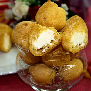 プチ生シューアイス・シュークリーム (約5g×40個) 業務用 家庭用 国産 食べ物
