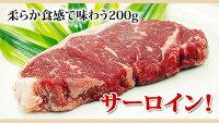 国産牛サーロインステーキ(200g)