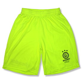 goleador(ゴレアドール) Basicプラパンツ(Yellow)ポケット無し【フットサルウェア/パンツ/プラパンツ/ゲームパンツ/ユニフォーム】【YTG】