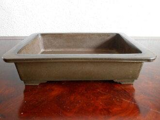 Bonsai ◆ purple mud outer cardboard long-legged people (Chen-residence) ◆ rectangular Bowl