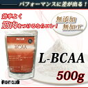 L-BCAA 500g 理想の身体をつくるための必須サプリメント!【アミノ酸サプリメント】【BCAA】