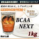 BCAA-NEXT 1kg 本格的に身体をつくるためのサプリメント!【アミノ酸サプリメント】【BCAA】