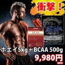 風神プロテインWPC コンセントレート【BCAA500g付き!】【送料無料!】【徳用5kg!】【プロテイン】【ホエイプロテイ…
