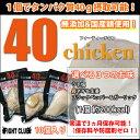 40chicken (10個入り)【サラダチキン】【フォーティーチキン】