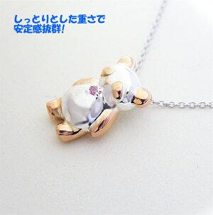 純銀の可愛いペンギンモチーフペンダント