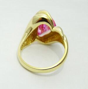 指輪リング天然パライバトルマリン天然ダイヤモンドプラチナ900希少石レア