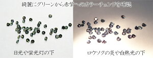 アレキサンドライトダイヤモンド指輪天然シンプル世界三大希少石【楽ギフ_包装】