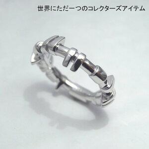カムシャフトリング指輪話題性シルバーSV925ロジウムコーティングメカニックパーツ世界に一つだけのコレクターズアイテム