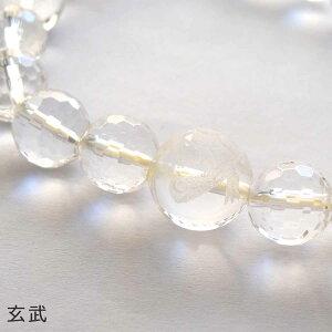 水晶ブレスレット天然水晶彫り四神四神獣朱雀玄武青龍白虎ジェムブレスパワーストーン高品質