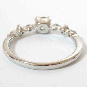 プラチナダイヤモンドリング0.26ct0.18ctPT900指輪天然シンプル12号【楽ギフ_包装】