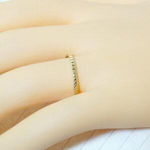 18金指輪スクエアクッションスクエア四角K18シンプルレディースメンズプレゼント【楽ギフ_包装】【楽ギフ_メッセ入力】