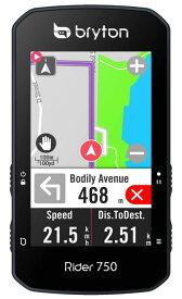 ブライトン Rider 750E GPS 2.8インチ カラー液晶 タッチハネル サイクル コンピュータ 単品 Bryton
