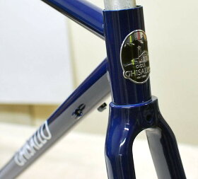ギサロ306ロードクロモリロードフレームセットカーボンフロントフォーク付属クラシックなクロモリ自転車に