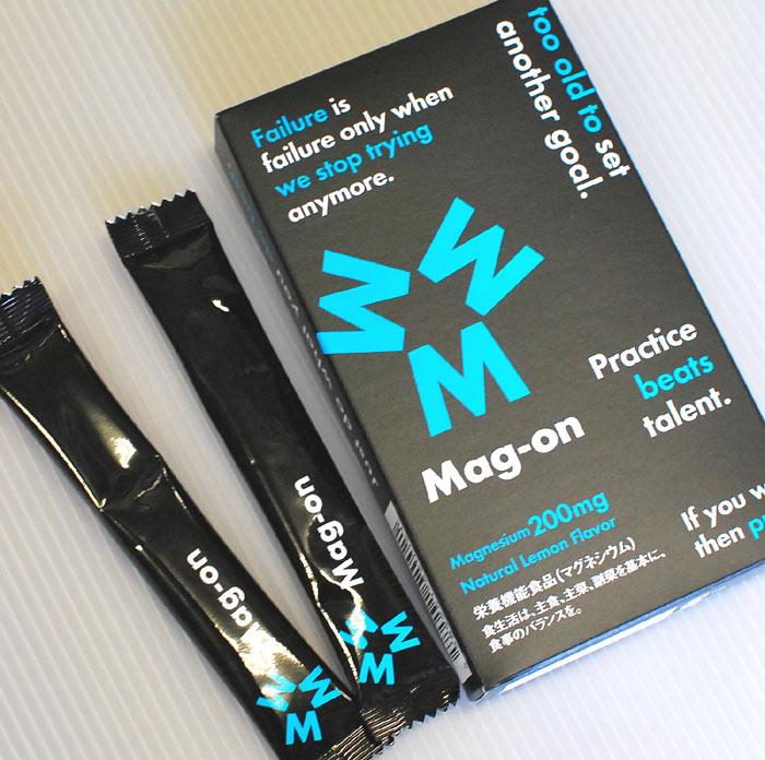 MAG-ON マグオン 8包 知られざる必須ミネラル マグネシウム を補給 汗をかくアスリートに