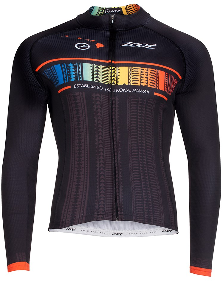 ZOOT ズート サイクル アリイ 長袖 ジャージ CYCLE ALI'I THERMO LS JERSEY ハワイアン 送料無料