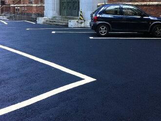 沥青沥青漆 18 公斤 (沥青,沥青混凝土地坪专用防护涂层) 沥青漆停车场泊车场油漆的地方油漆和施工面积