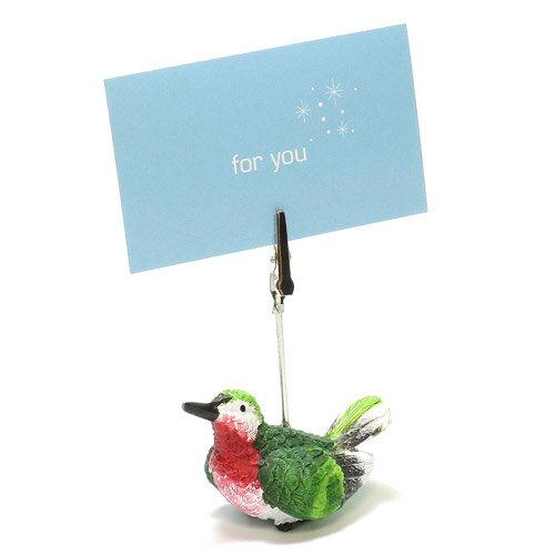CARD STAND HUMMINGBIRD (カード スタンド ハミングバード ハチドリ)