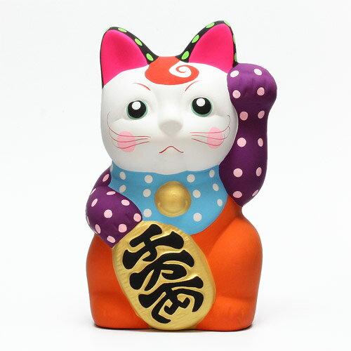 DOTS MANEKI NEKO PURPLE (ドット 招き猫 パープル) 【AS】