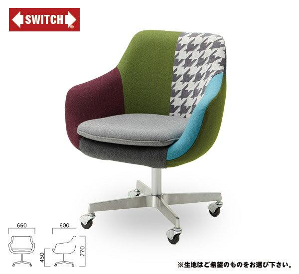 【SWITCH】 COSMIC CHAIR CASTER TYPE5355 (スウィッチ コスミック チェアー キャスター タイプ5355) 【送料無料】 【ポイント10倍】