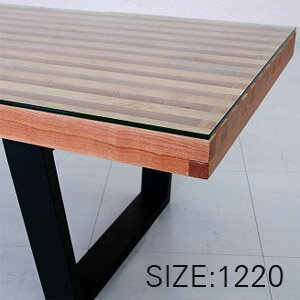 GEORGE NELSON PLATFORM BENCH GLASS TOP 1200 (ジョージネルソン プラットフォームベンチ ガラス天板1200) 【送料無料】