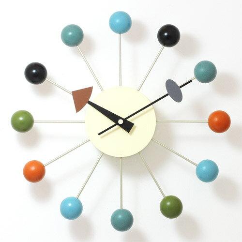 GEORGE NELSON BALL CLOCK (ジョージ ネルソン ボール クロック) 【送料無料】 【ポイント10倍】