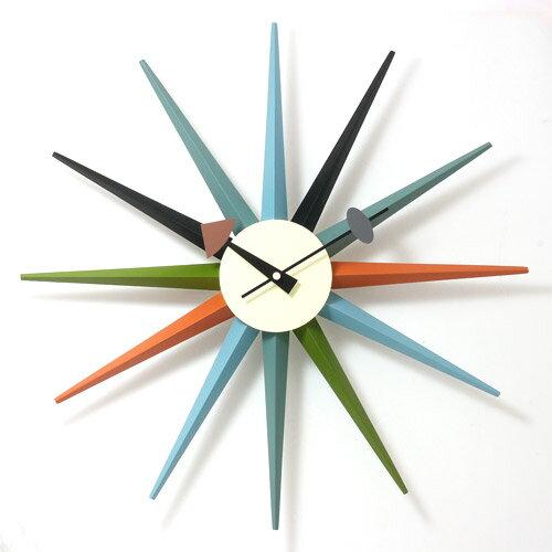 GEORGE NELSON SUNBURST CLOCK (ジョージ ネルソン サンバース トクロック) 【送料無料】 【ポイント10倍】