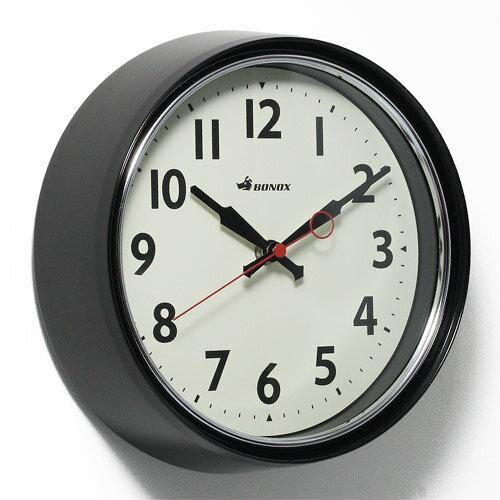 ■ RETRO WALL CLOCK BLACK (レトロ ウォール クロック ブラック) S426-207BK 【ポイント3倍】 【AS】