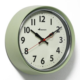 RETRO WALL CLOCK SAGE GREEN (レトロ ウォール クロック セージグリーン) S426-207SGN 【ポイント3倍】 【AS】
