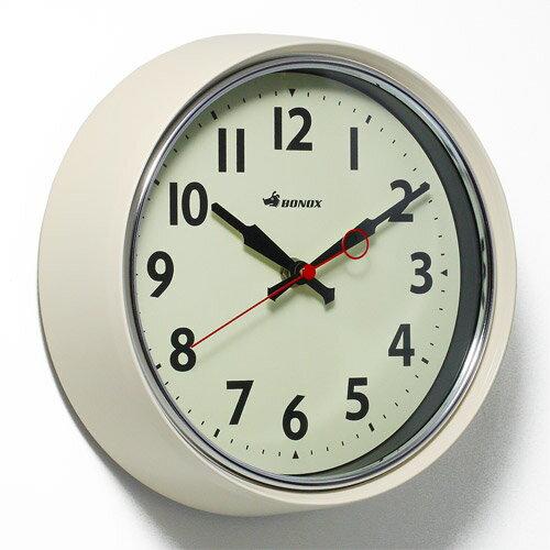 ■ RETRO WALL CLOCK IVORY (レトロ ウォール クロック アイボリー) S426-207IV 【ポイント3倍】 【AS】