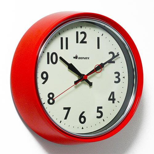 ■ RETRO WALL CLOCK RED (レトロ ウォール クロック レッド) S426-207RD 【ポイント3倍】 【AS】