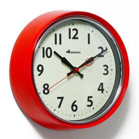 RETRO WALL CLOCK RED (レトロ ウォール クロック レッド) S426-207RD 【ポイント3倍】 【AS】