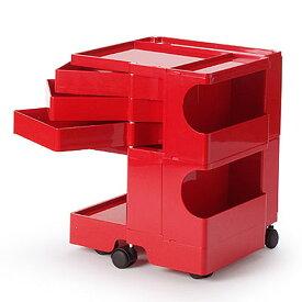 正規輸入品 BOBY WAGON 2×3 RED (ボビーワゴン 2段3トレイ レッド) 【送料無料】 【ポイント10倍】