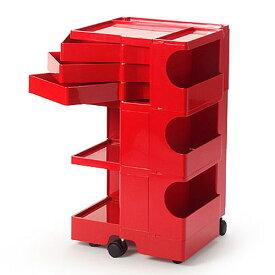 正規輸入品 BOBY WAGON 3×3 RED (ボビーワゴン 3段3トレイ レッド) 【送料無料】 【ポイント10倍】