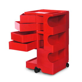 正規輸入品 BOBY WAGON 3×4 RED (ボビーワゴン 3段4トレイ レッド) 【送料無料】 【ポイント10倍】