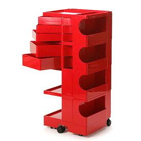 正規輸入品 BOBY WAGON 4×5 RED (ボビーワゴン 4段5トレイ レッド) 【送料無料】 【ポイント10倍】
