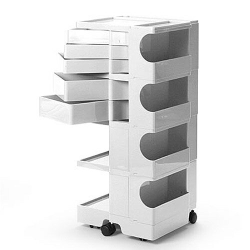 正規輸入品 BOBY WAGON 4×5 WHITE (ボビーワゴン 4段5トレイ ホワイト) 【送料無料】 【ポイント10倍】