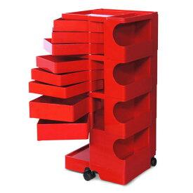 正規輸入品 BOBY WAGON 4×8 RED (ボビーワゴン 4段8トレイ レッド) 【送料無料】 【ポイント10倍】
