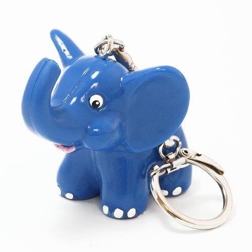 KEYCHAIN METZELER ELEPHANT BLUE (キーチェーン メッツラー エレファント ブルー)