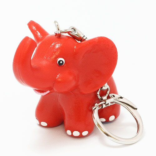 KEYCHAIN METZELER ELEPHANT RED (キーチェーン メッツラー エレファント レッド)
