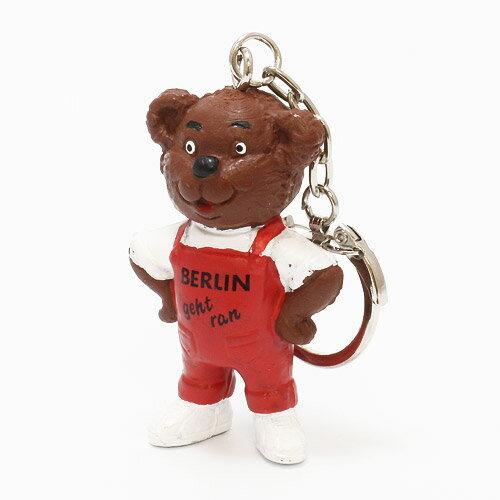 KEYCHAIN BERLIN GEHTRAN BEAR RED (キーチェーン ベルリン ゲットラン ベアー レッド)