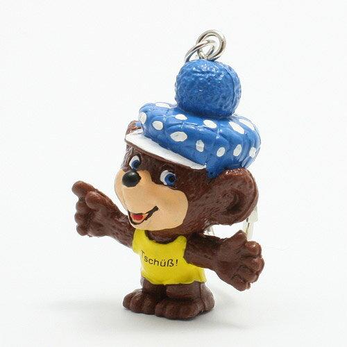 KEYCHAIN HAT BEAR BLUE (キーチェーン ハット ベアー ブルー)