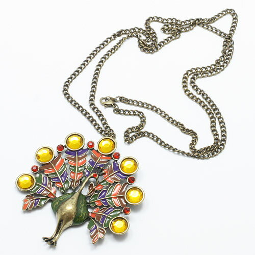 PEACOCK NECKLACE (ピーコック ネックレス)