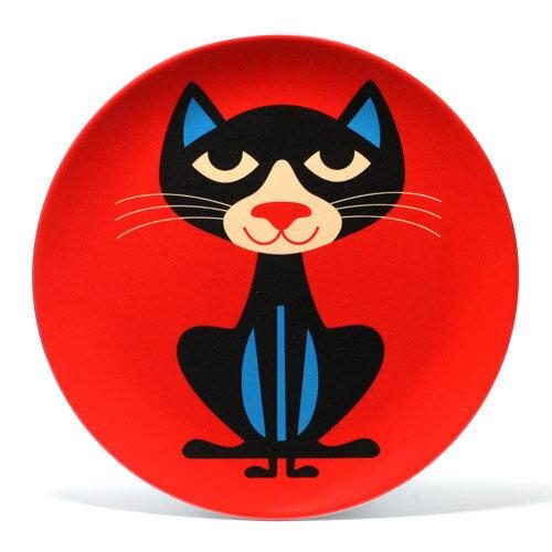 OMM DESIGN MELAMINE PLATE CAT (OMM デザイン メラミン プレート キャット) 【AS】