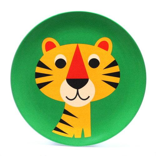 OMM DESIGN MELAMINE PLATE TIGER (OMM デザイン メラミン プレート タイガー) 【AS】