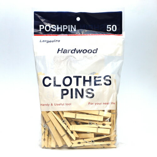 ■ WOOD CLOTHES PINS L  (ウッド クロス ピン 木製 洗濯ばさみ L)