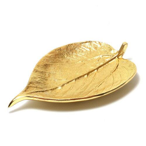 LEAF TRAY GOLD B (リーフ トレイ ゴールド B)