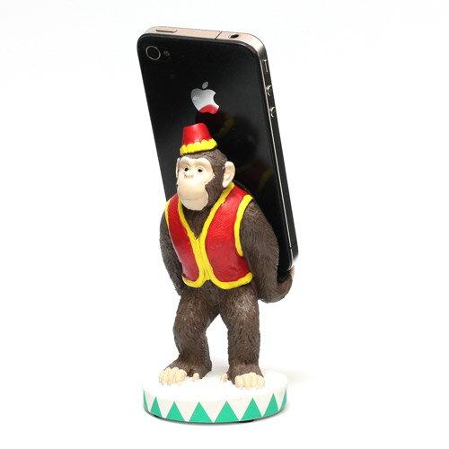 ■ SMART PHONE STAND CIRCUS CHIMPANZEE (スマート フォン スタンド サーカス チンパンジー) 【AS】