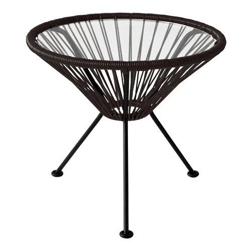 ■ ACAPULCO SIDE TABLE BLACK (アカプルコ サイド テーブル ブラック) 【送料無料】 【ポイント10倍】