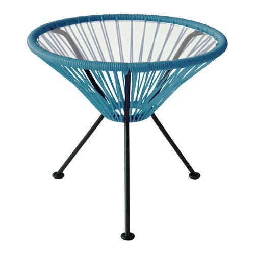 ■ ACAPULCO SIDE TABLE PETRO BLUE (アカプルコ サイド テーブル ペトロブルー) 【送料無料】 【ポイント10倍】