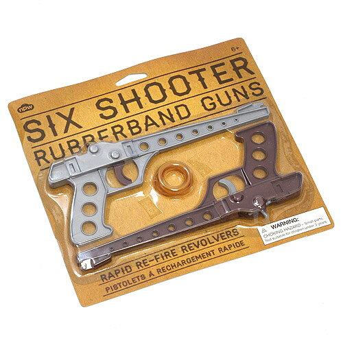 ■ SIX SHOOTER BUBBERBAND GUNS (シックス シューター ラバー バンド ガン)